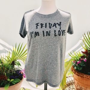RACHEL ROY FRIDAY I'M IN LOVE TEE